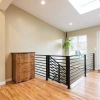 After_Interior_Great Rooms_Staircase additions_Basement staircase_MidCentury Remodels