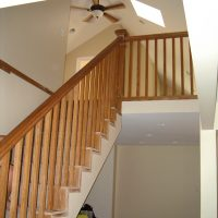 Stair Case Renovation Attic Addition
