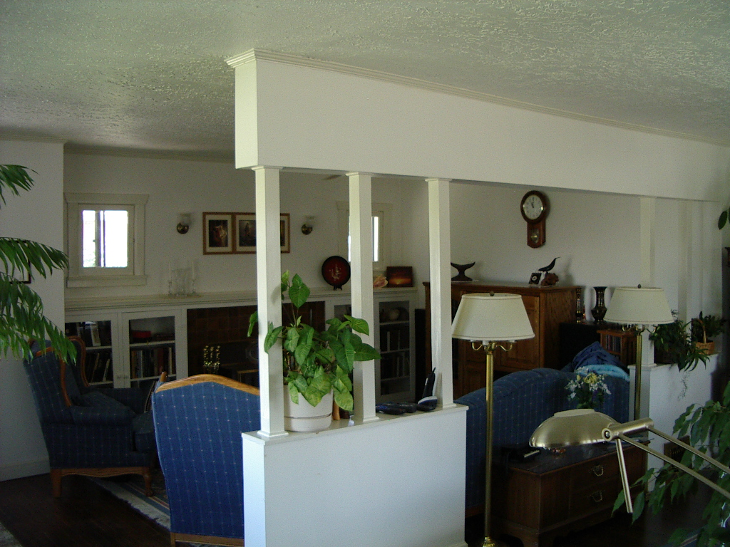 Before Bungalow Living Room Remodel