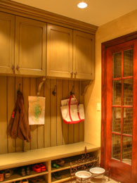 Mudroom Design helps keep the house organized 1