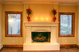 Fireplace Remodels add charm