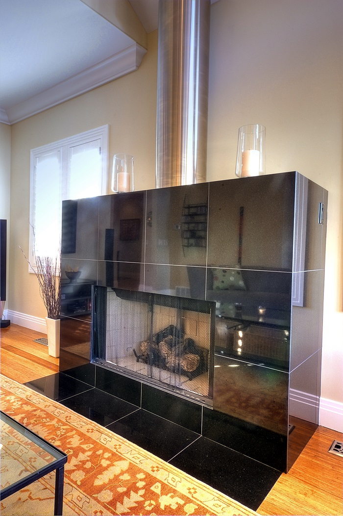 Contemporary Fireplace Remodel | Renovation Design Group