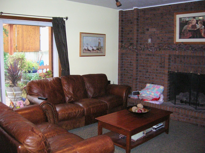 Before Great Room Remodel