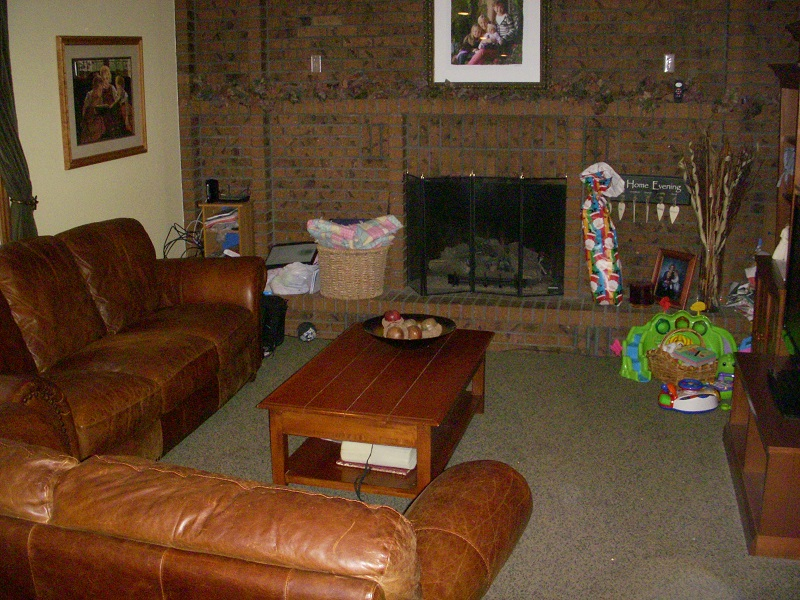Before family room remodel