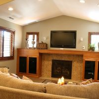 Family Room traditional