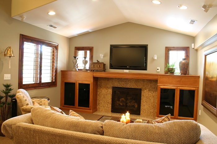 Family Room traditional | Renovation Design Group