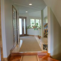 After Interior Renovation Entry Contemporary