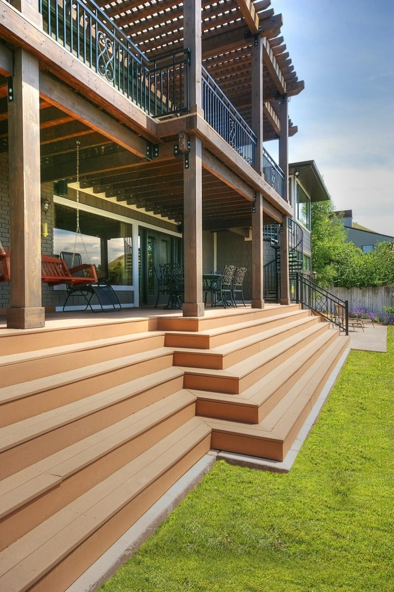 Indoor Outdoor Spaces, Patios, Deck, Double decker porches | Renovation Design Group