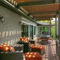 Patio, Dining Outside designs, Porches, 1970's, outdoor furniture, pergola | Renovation Design Group