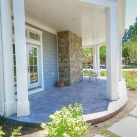 Cape Home Design Porch