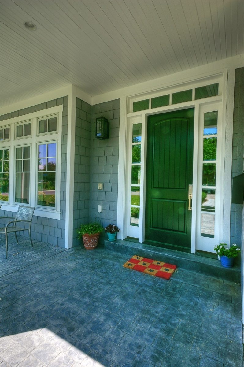 front porch on Cape Cod