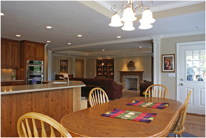 Kitchen Table Great Room Remodel