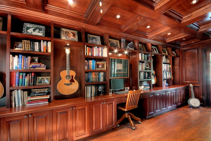 After Interior Design Music Room Addition