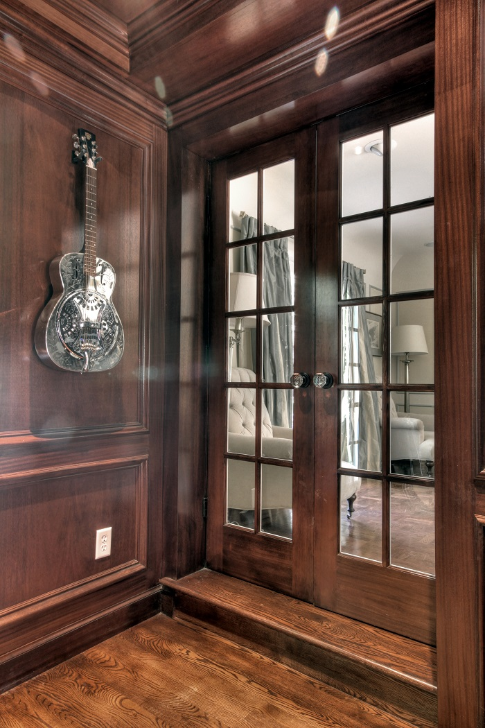 After Interior Renovation Music Room First floor Additions | Renovation Design Group