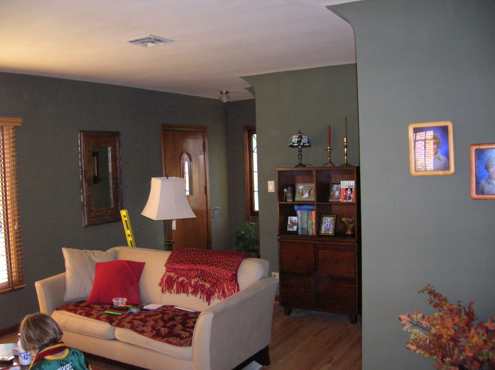 Before, Tudor, Living Room, Remodel, Additions, Second Story | Renovation Design Group