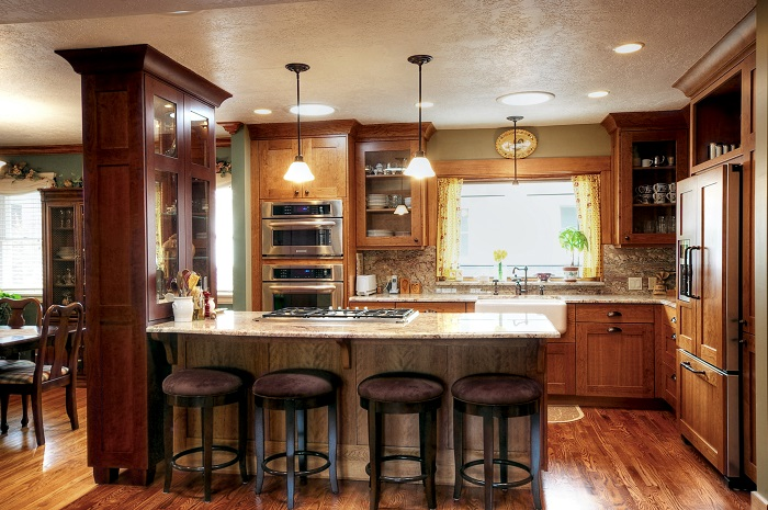 After_Interior_Great Room Renovation_Bungalow Home | Renovation Design Group