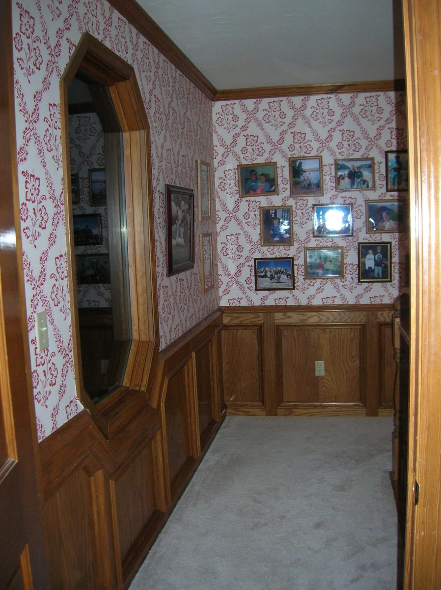 Before_Interior_Hallway_1970's Home | Renovation Design Group