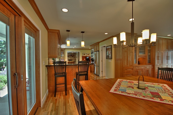 After_Interior_Dining Kitchen_Ranch Rambler Remodels | Renovation Design Group