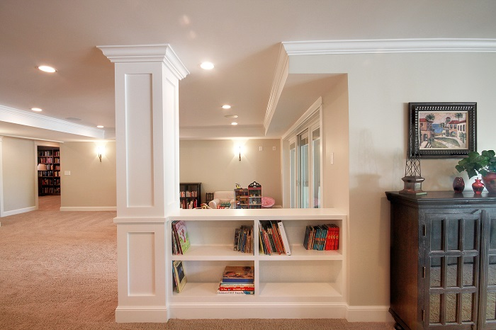 After Whole House Renovation Basement Remodel Open Space | Renovation Design Group