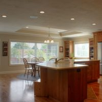 Kitchen Island in Ranch Style Home | Renovation Design Group