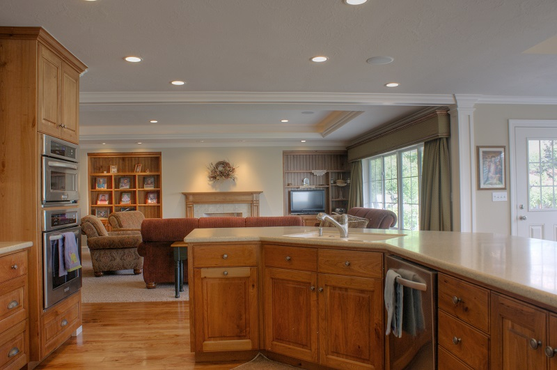 Great Room and Kitchen