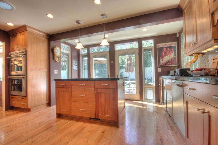 After Interior Kitchen Renovation 1970's House Style | Renovation Design Group| Renovation Design Group