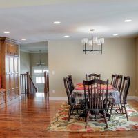 After_Interior_Dining Room_Benches_Ondoor Benches_Split Entry | Renovation Design Group
