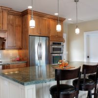 After _Interior_Kitchen_Luxury Kitchens_Split Entry Home Remodels | Renovation Design Group