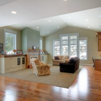 After_Interior_Large Family Room_Great Rooms_Tall Ceilings_Split Entry | Renovation Design Group