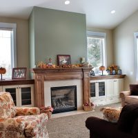 After_Interior_Living Room_Tall Ceilings_Living Room Remodels_Split Level | Renovation Design Group