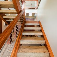 After_Interior_Staircases_Split Level Stair ideas_Split Level Contemporary | Renovation Design Group