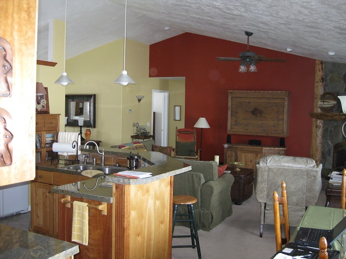 After_Interior Renovation_Great Room_1980's Home Update | Renovation Design Group