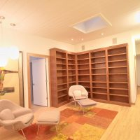 790_After_Interior_Home Office_Library Built in shelves_Modern Home Office Style and design | Renovation Design Group