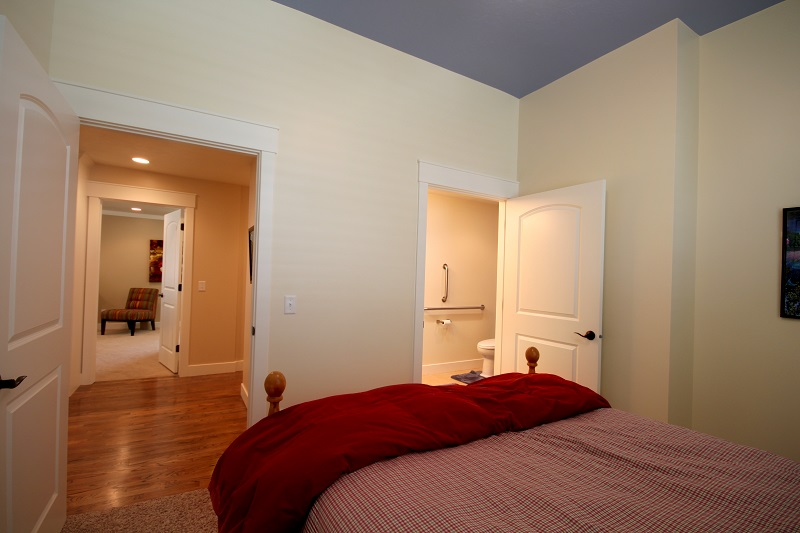 After_Interior_Handicapped Accesible_Bedroom and Bathroom_1980's home | Renovation Design Group