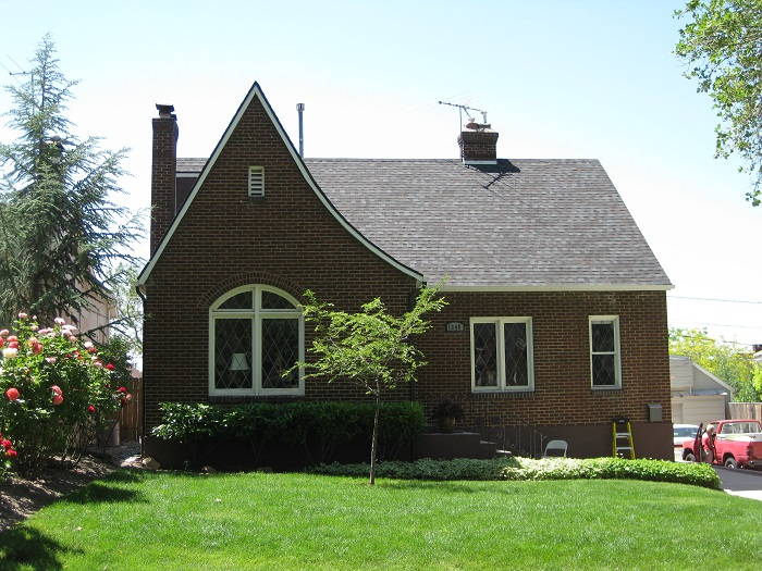 Before_Exterior Renovation_Exterior Home Remodeling_Tudor Style Home Remodel | Renovation Design Group