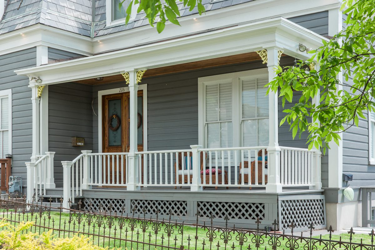 Exterior Remodel of Victorian Home