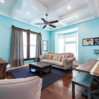 Interior Family / Great Room Victorian Home Remodel