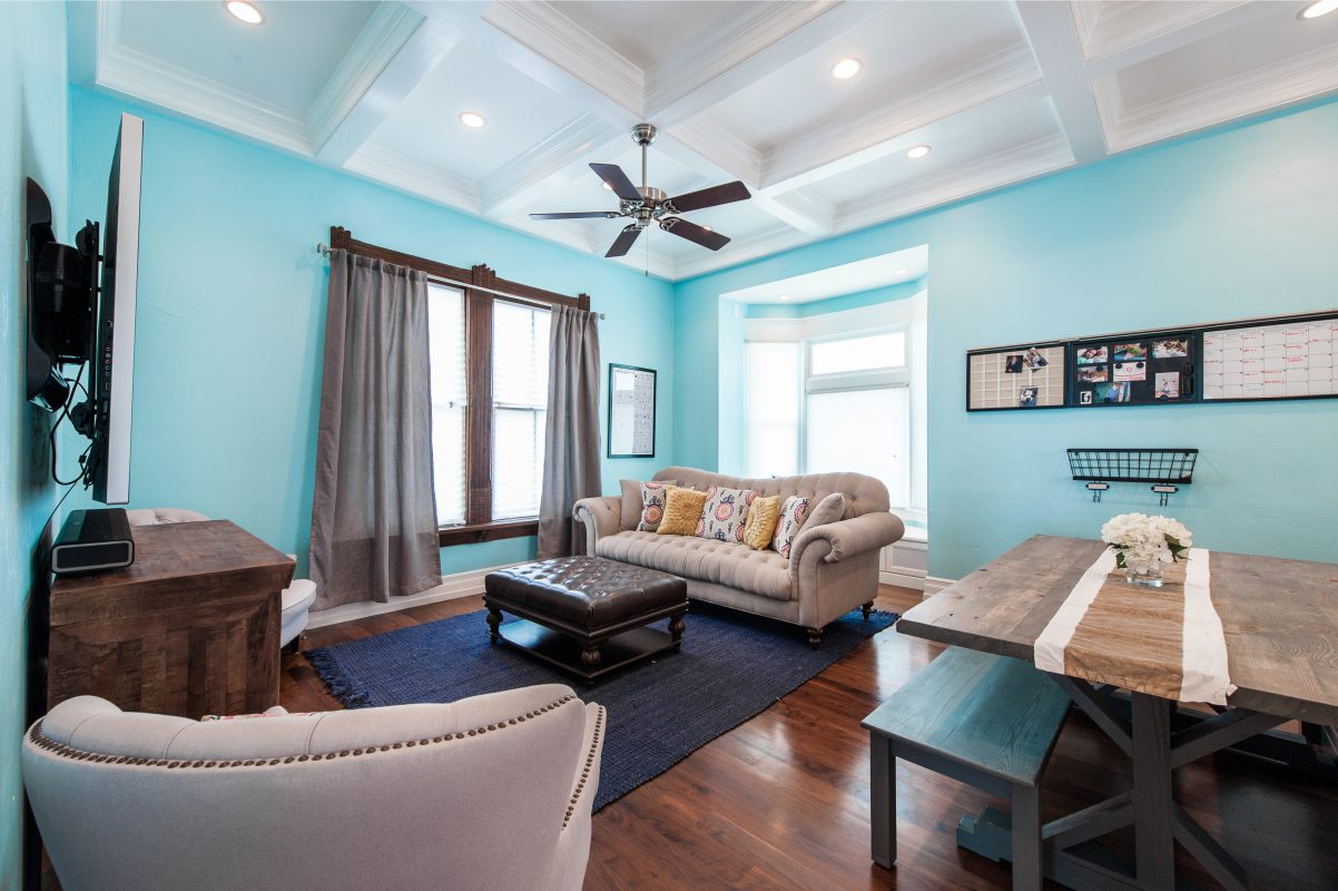 Interior Family / Great Room Victorian Home Remodel | Renovation Design Group