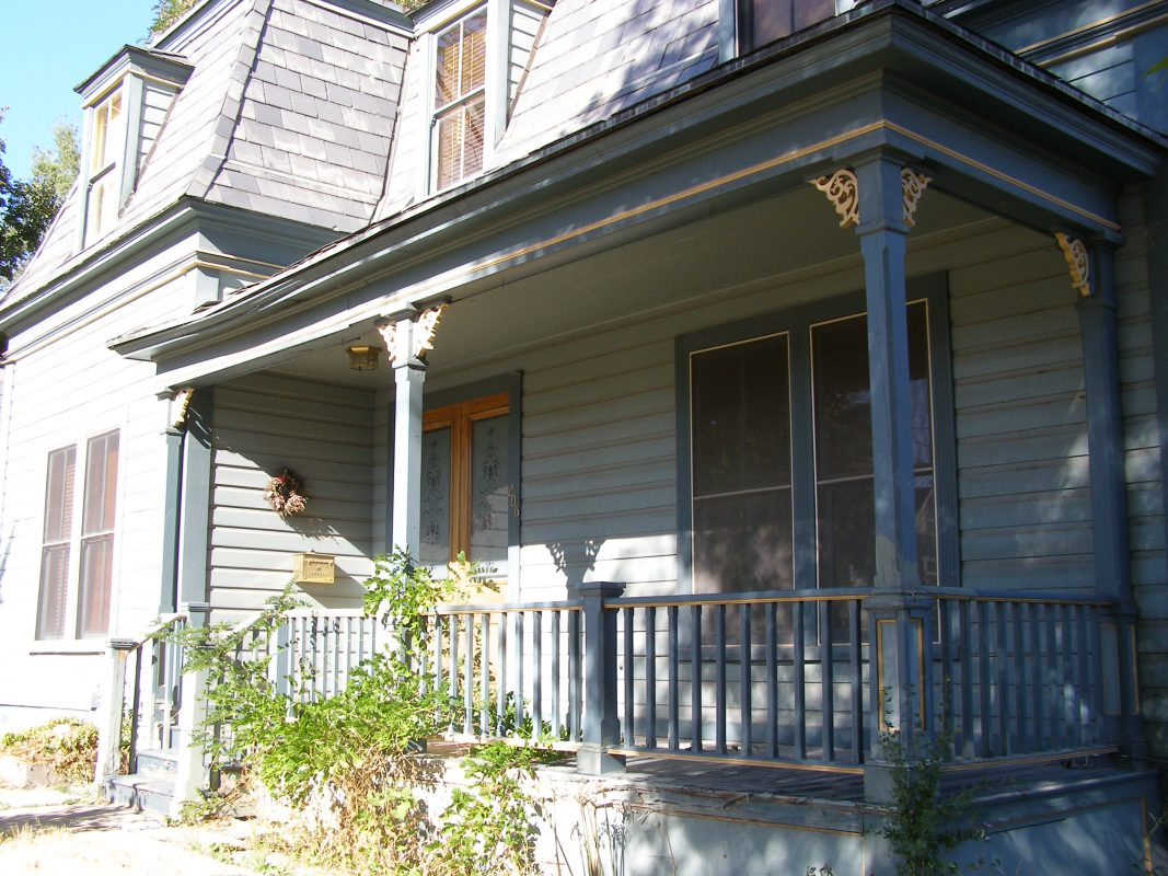 Victorian Front Porch Before Remodel