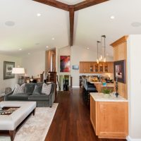Cottonwood Club Split Level Interior Great Room Renovation by Renovation Design Group