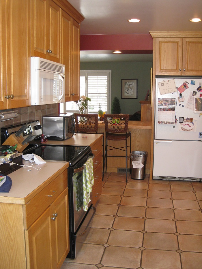 Before_Interior Remodel_Kitchen_1940's Home
