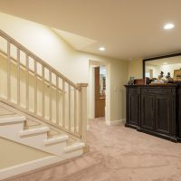 After Interior basement Remodels Family Rooms Blaine Avenue Addition Renovation Design Group
