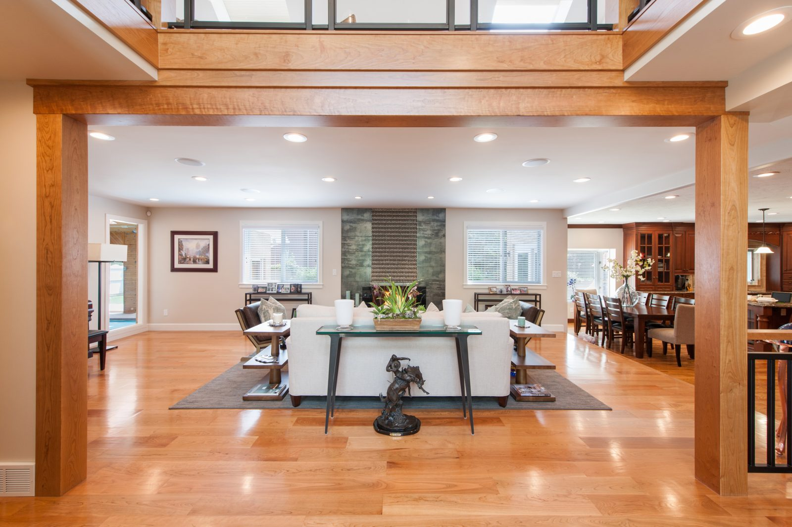 Briarcreek Contemporary, Interior Main Floor Remodel by Renovation Design