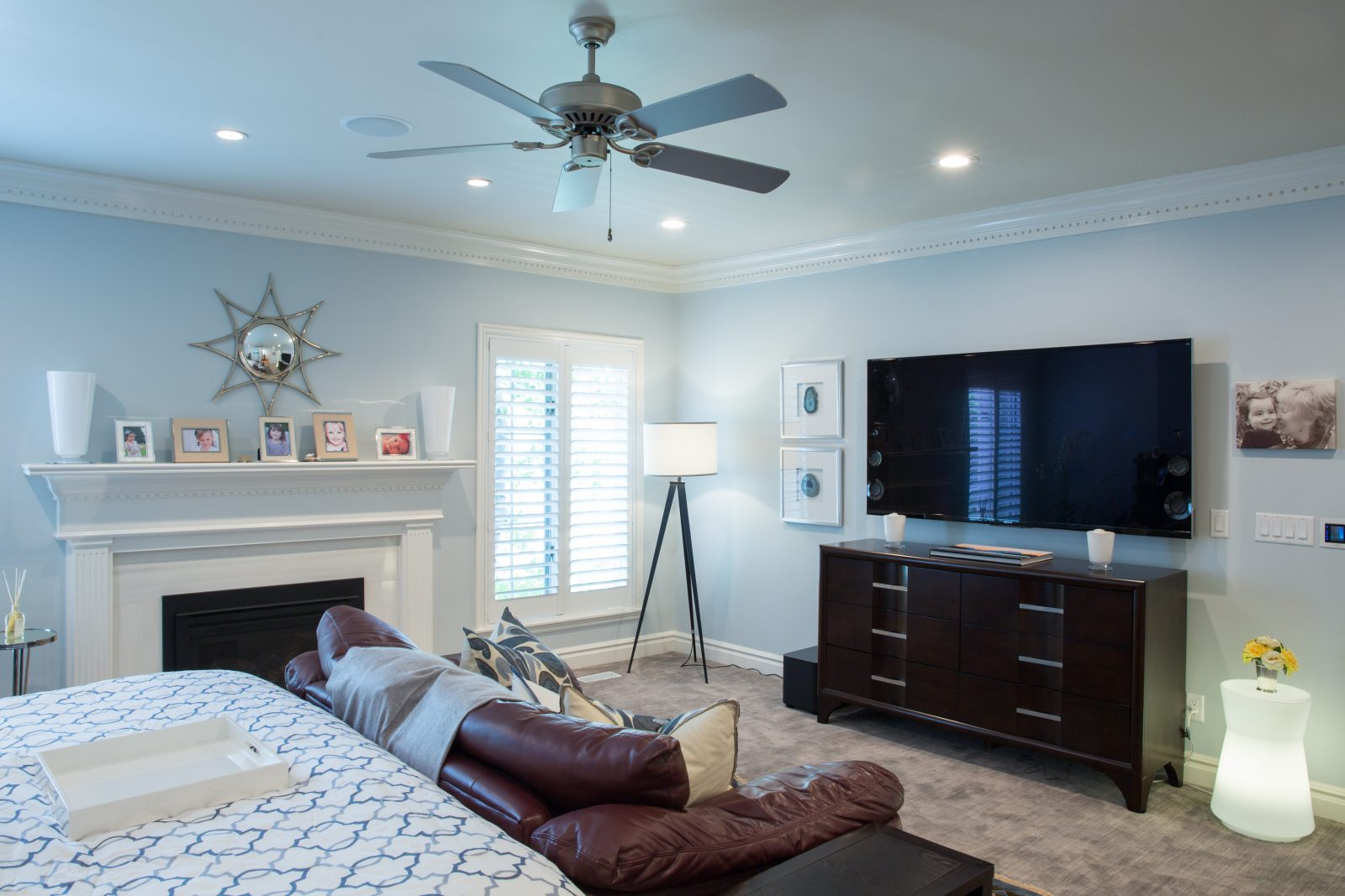 Briarcreek Contemporary, Interior Main Master Suite Remodel by Renovation Design