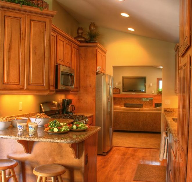 Cottage Kitchen Remodel traditional