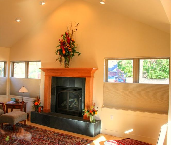 Cottage Family Room Remodel Living Room Great Rooms Fireplace | Renovation Design Group