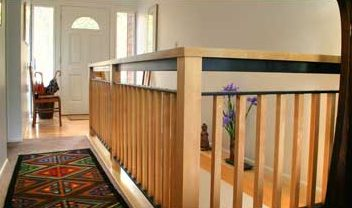 Stair Railing Design after Remodel