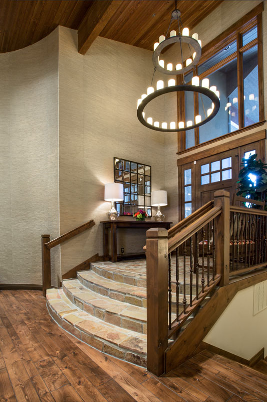 After Front Entry Park City Mountain Retreat | Renovation Design Group