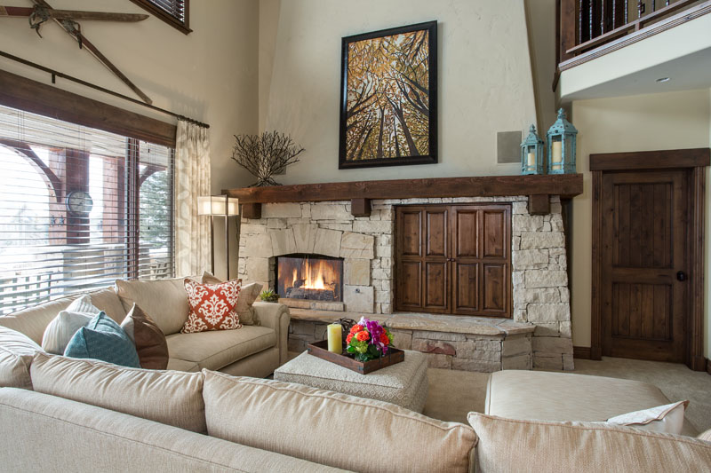 Park City Mountain Retreat Living Room | Renovation Design Group