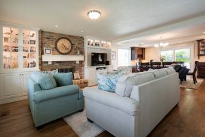 After Interior Great Room Cape | Renovation Design Group